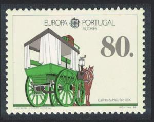 Azores Europa Transport and Communications 1v SG#484