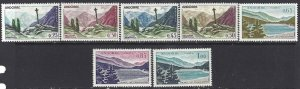 Andorra French 1961 SC 143-153 Mint SCV$ 85.00 Set