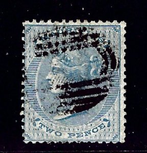 Mauritius 33 Used 1863 issue    (ap1214)