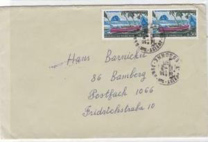 France Martinique 1971 stamps cover  R20251