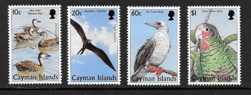 Cayman Is. #759-762  Mint H