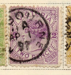 Victoria 1884-86 Early Issue Fine Used 2d. 326807