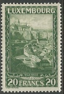 Luxembourg ---  Scott # 197 - MH