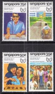 Singapore 378-381 MNH VF
