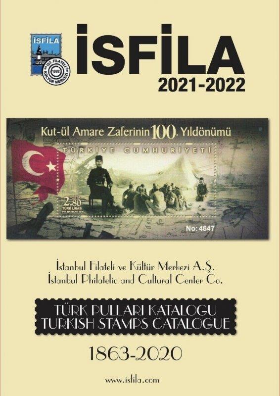 OTTOMAN & TURKISH STAMPS CATALOGUE / ISFILA 2020 , NEW EDITION