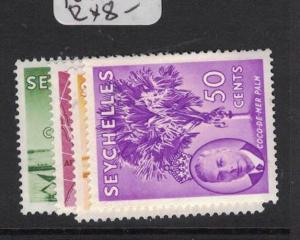Seychelles SG 161-3, 167 MNH (2dtg)
