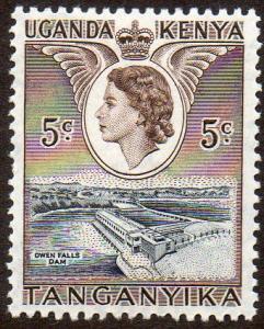 Kenya, Uganda & Tanganyika  Scott  103  Mint