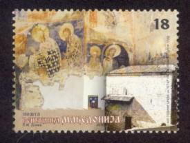 Macedonia Sc# 510 MNH St. Peter's Church