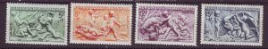 J24675 JLstamps 1949 france set mh #b244-7 the seasons