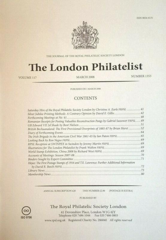 BRITISH BECHUANALAND FIRST PROVISIONAL OVERPRINTS 1885-7 Varieties Forgeries