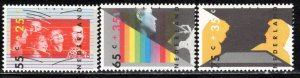 Netherlands Scott # B623 - B625, mint nh