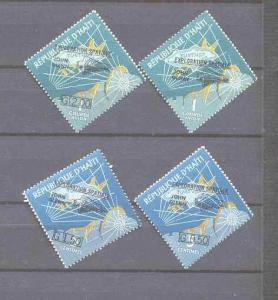 Haiti 484-85,C186-97 MNH Space SCV3.05