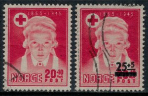 Norway #B42,7  CV $3.50