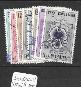 VENEZUELA  (PP2404B)  APURE  ARMS  SC597-602  VFU