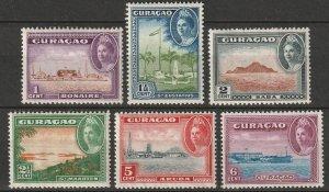 Netherlands Antilles 1943 Sc 164-9 set MNH/MLH