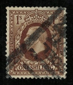 1912-1936 King George V, Postage revenue 1Shilling Great Britain (TS-435)