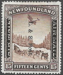 Newfoundland Scott Number 211 FVF H