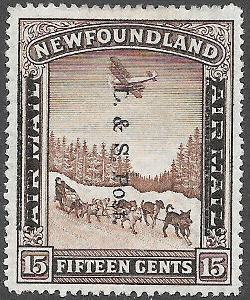 Newfoundland Scott Number 211 FVF H