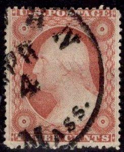 US Stamp Scott #26A USED SCV $150. BOLD CDS!