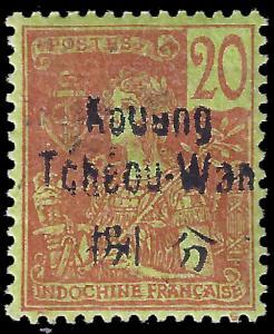 France-Kouang Tcheou 1906 YT 7 mnh