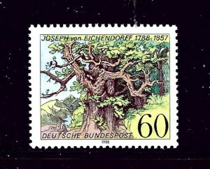 Germany 1548 MH 1988 issue      (P91)