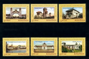 [101081] Romania 2006 National exhibition architecture postcards  MNH