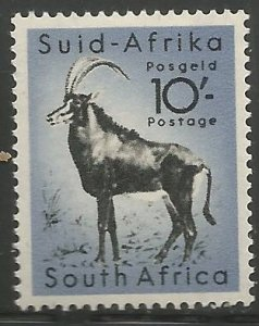 SOUTH AFRICA  213  MNH,  SABLE ANTELOPE