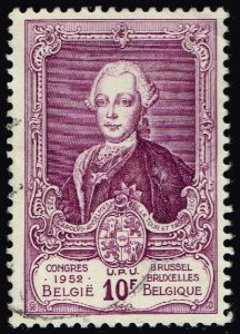 Belgium #444 Prince Charles Anselme; Used (4Stars)
