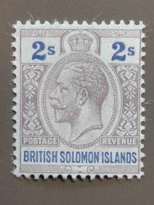 Solomon Islands 37 F-VF MHR. Scott $ 8.50