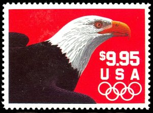 Eagle $9.95 Express Mail Single Postage Stamp Scott 2541