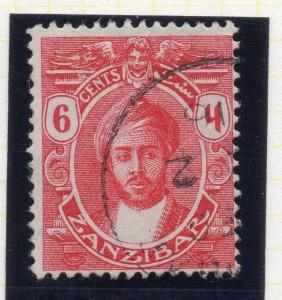 Zanzibar 1913-14 Early Issue Fine Used 6c. 115694