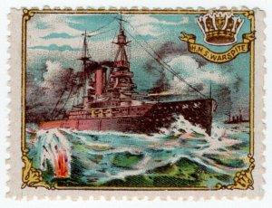 (I.B) Cinderella : Delandre Great War Ships - HMS Warspite