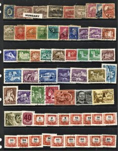 STAMP STATION PERTH Hungary #61 Used Selection - Unchecked