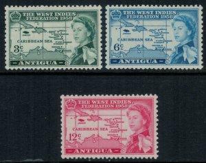 Antigua #122-4*  CV $5.80