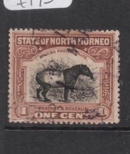 North Borneo SG 158a VFU (5deg)