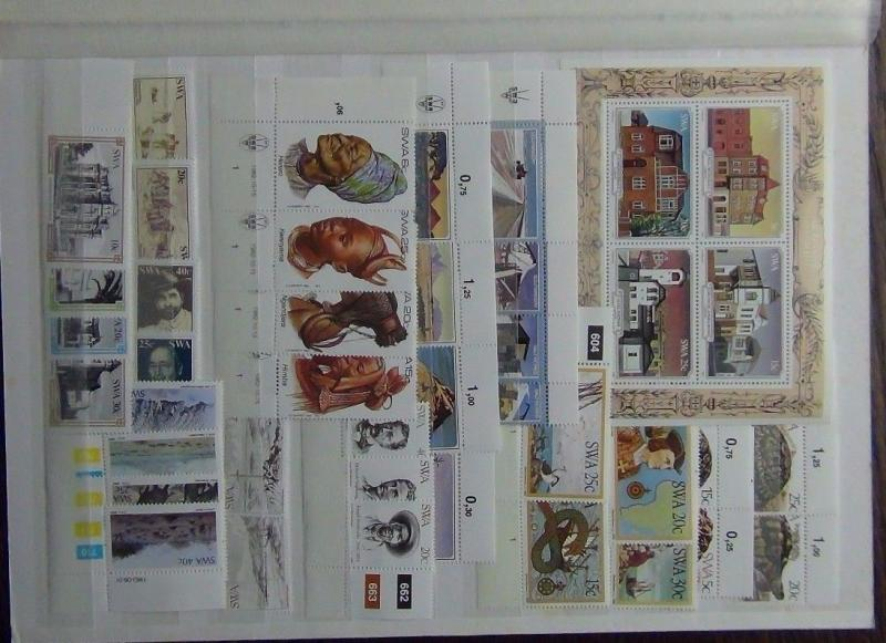 South West Africa 1981-83 Commemorative issues Tortoise Lobster Diamonds MNH