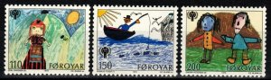 Faroe Islands #45-7  MNH  (SU8476)