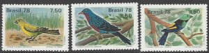 Brazil 1557-9 MNH Environment Birds