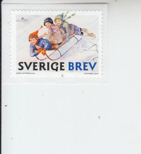 2018 Sweden Christmas SA (Scott 2830) MNH