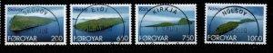 Faroe Islands Sc 383-86 2000 Islands stamp set used