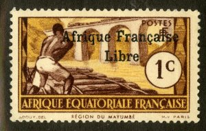 FRENCH EQUATORIAL AFRICA 133 MH SCV $4.00 BIN $1.75 PERSON