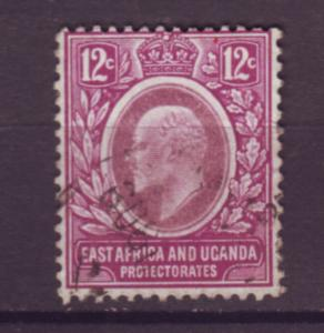 J20964 Jlstamps 1907-8 E.africa & uganda proct used #35 king