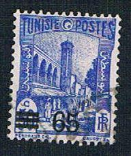 Tunisia 145 Used Mosque surcharge (BP7624)