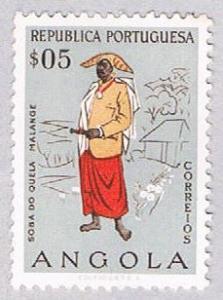 Angola 395 MLH Costumes 1957 (BP2507)