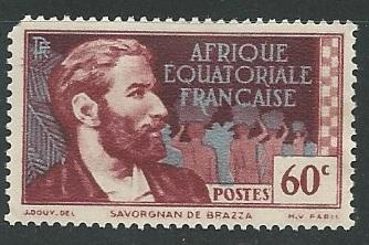 French Equatorial Africa  + Scott # 50 - MH