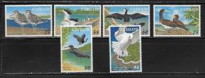 Vanuatu 697-702 Birds set MNH