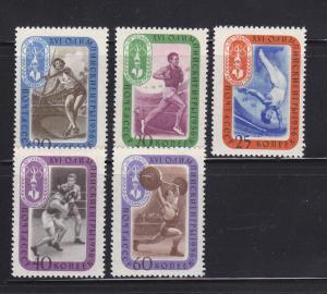 Russia 1968-1971, 1973 MHR Olympics. Sports (B)