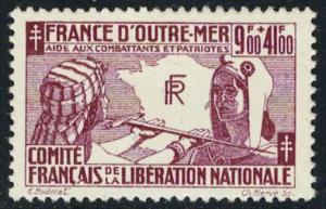 French Colonies Scott B2 Mint never hinged.