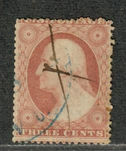 US Sc#25 Used/A, Cv. $175