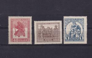 hungary 1929 prisoner of war mounted mint  stamps  ref r14029